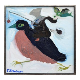 The Bird and the Mouse by Stan Fullerton For Sale