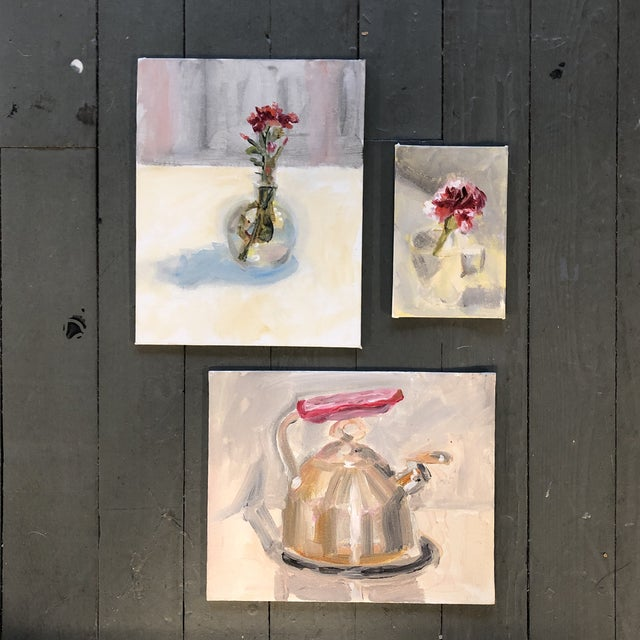 Gallery Wall Collection 3 Original Contemporary Still Life Paintings For Sale In Philadelphia - Image 6 of 6