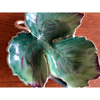 Mid 20th Century Vintage Green Leaf Bowl Preview