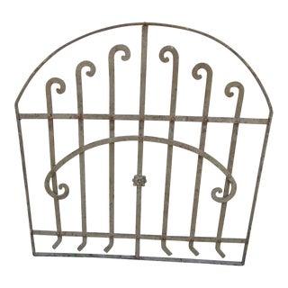 Antique Victorian Iron Gate Architectural Salvage Door For Sale