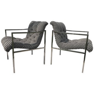 Milo Baughman Chairs For Sale