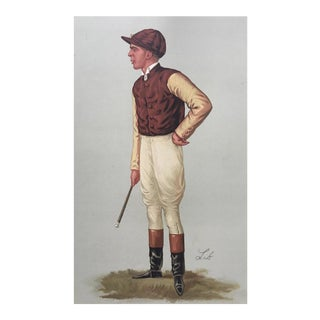 1887 Original Vanity Fair Jockey Print
