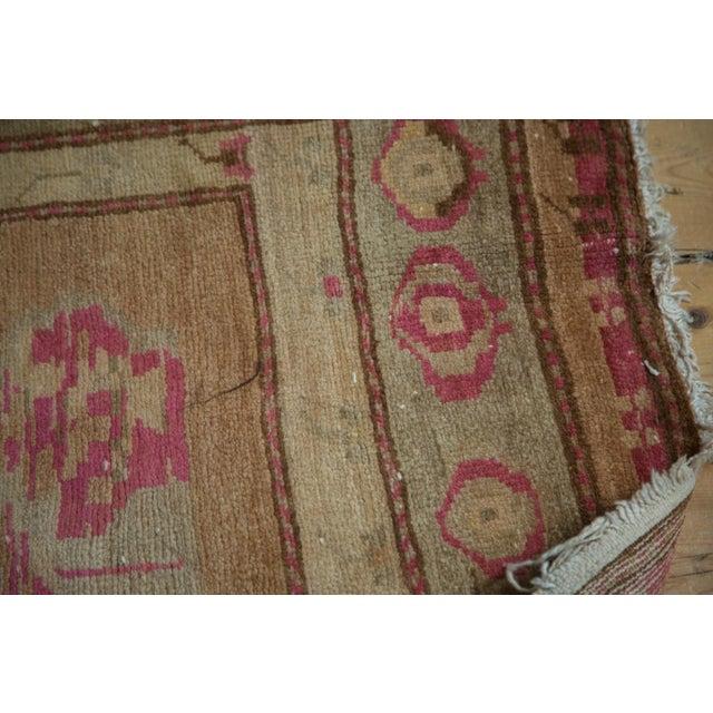 """Vintage Oushak Rug - 4' x 7'6"""" For Sale - Image 4 of 10"""