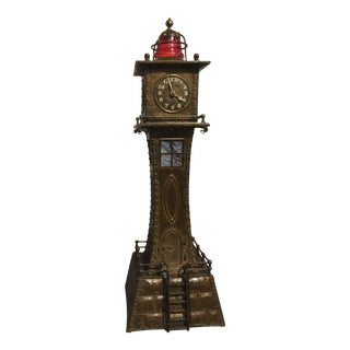 Late 19th Century Arts and Crafts Style Mantel Clock For Sale