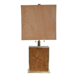 Mica Glam Table Lamp For Sale
