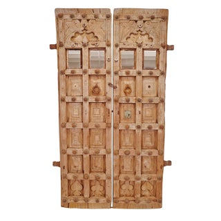 Old Jodhpur Set of Doors For Sale