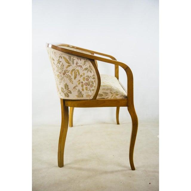 Art Nouveau Parlor Furniture - Set of 5 For Sale In Atlanta - Image 6 of 11