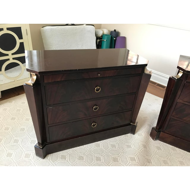 Thomas Pheasant Empire Chest / End Tables - A Pair - Image 7 of 8