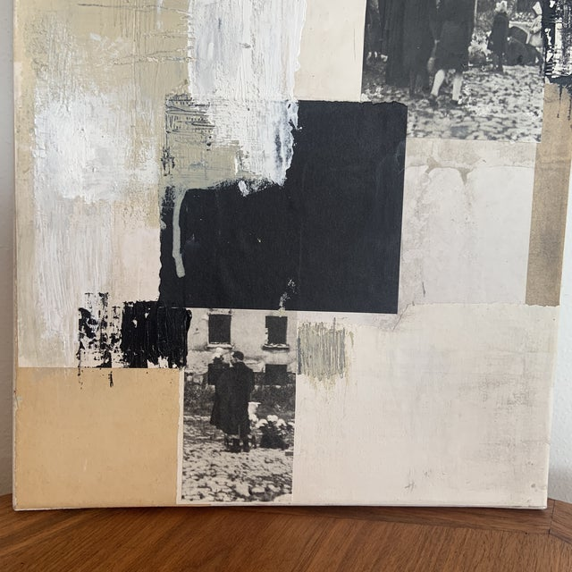 Contemporary Abstract Mixed-Media Painting by Ross Severson For Sale - Image 4 of 7