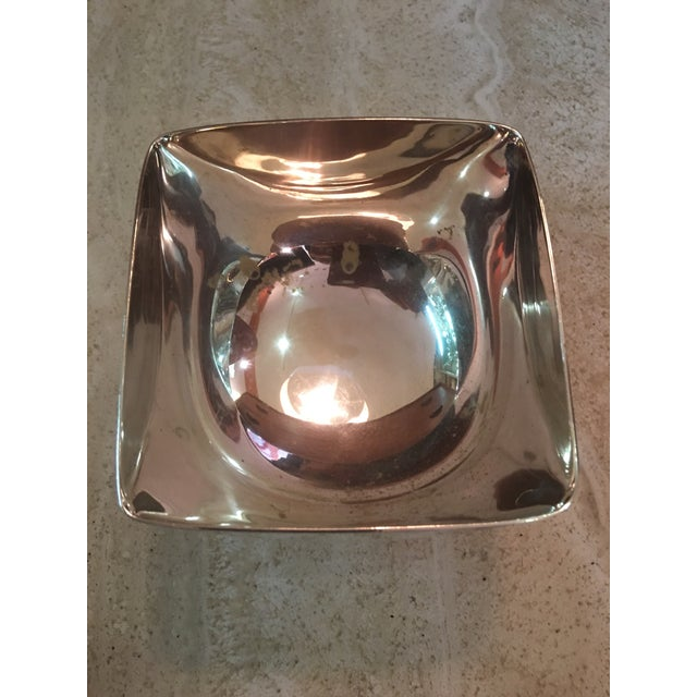 Ward Bennett Silverplate Bowl For Sale - Image 10 of 12