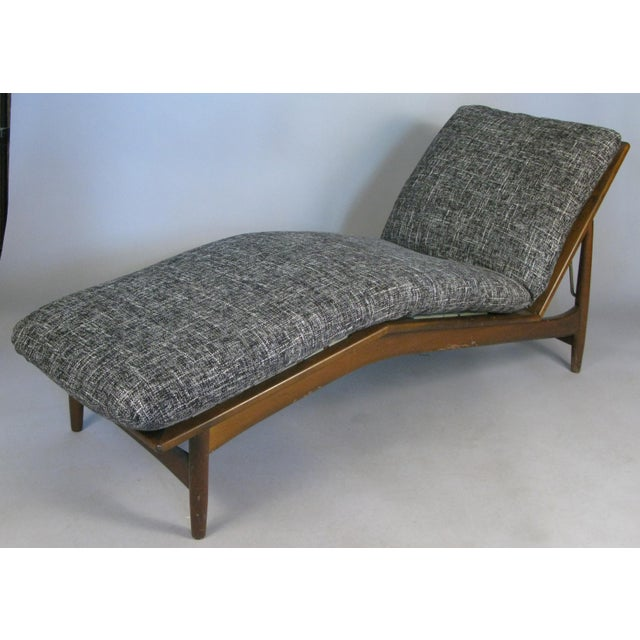 1960s Vintage Danish Adjustable Chaise Lounge by Ib Kofod-Larsen For Sale - Image 10 of 10