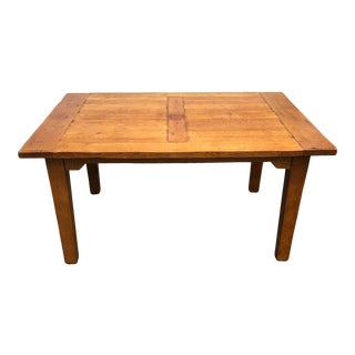 Antique Rustic Farm Dining Table For Sale