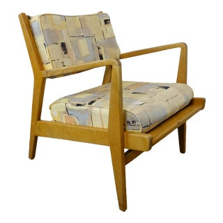Mid Century Modern Jens Risom Armchair For Sale