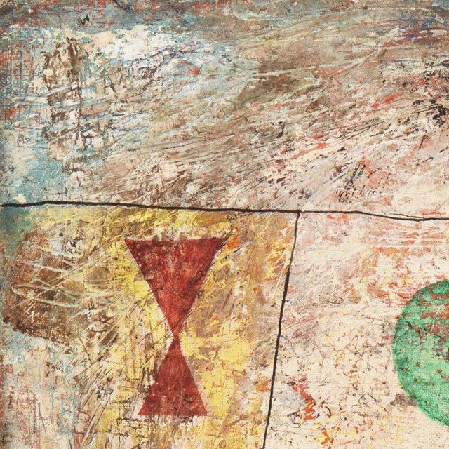 1950s Isami Adachi Geometric Abstract 1950s For Sale - Image 5 of 11