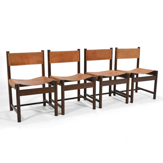 Michel Arnoult Table & Four Chairs For Sale In Chicago - Image 6 of 11