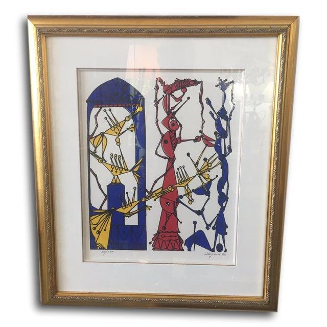 Framed Serigraph by Jose M. Mijares - Image 2 of 5