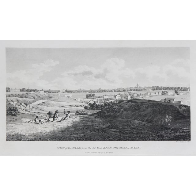 Early 19th Century Engraved Views of Dublin Ireland by James Malton - Set of 25 For Sale - Image 5 of 13