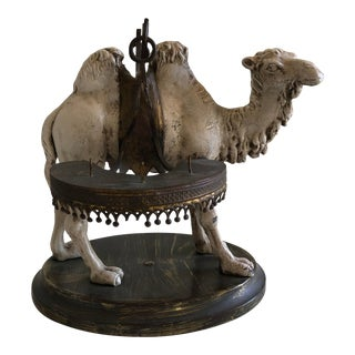 Vintage Figurative Camel Candle Holder For Sale