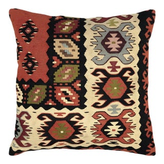 """MidCentury Rustic Kilim Pillow 