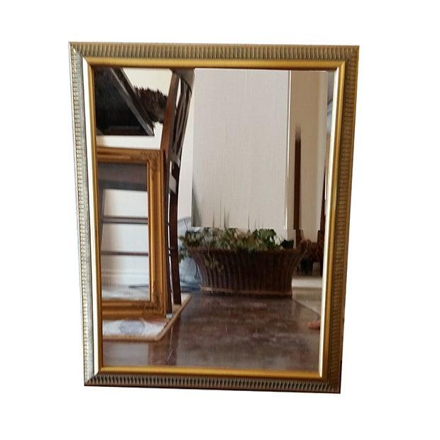 Vintage Gold Painted Wood Framed Mirror - Image 4 of 5