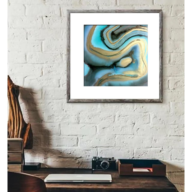 'AGATE' Original Abstract Painting by Linnea Heide - Image 4 of 6
