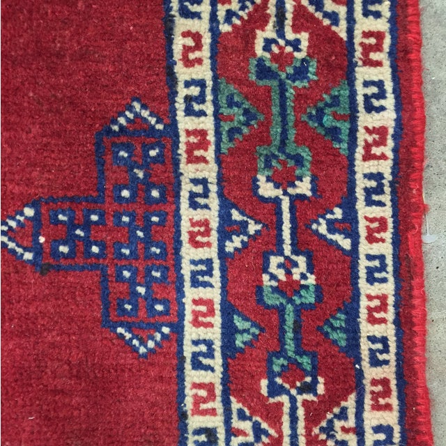 Turkaman Red Persian Rug - 2′2″ × 3′1″ - Image 7 of 8