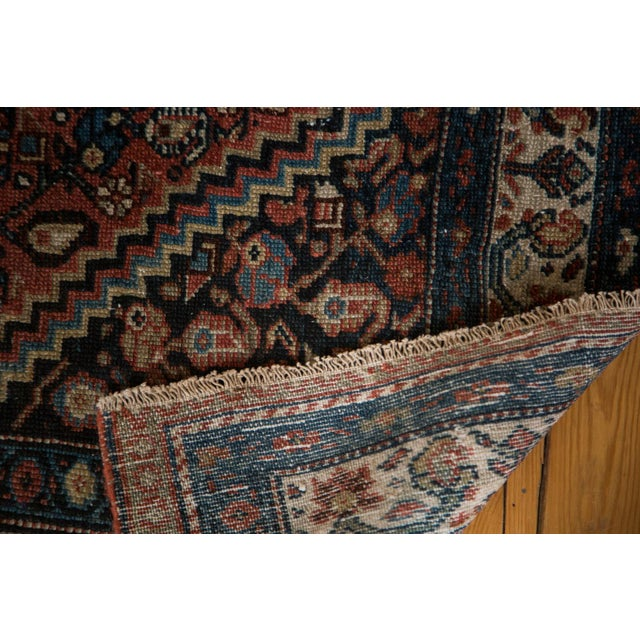 "Vintage Persian Malayer Rug - 3'8"" X 5'6"" For Sale - Image 4 of 8"
