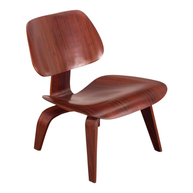 Rare Eames Pre-Production Rosewood LCW - Image 1 of 11