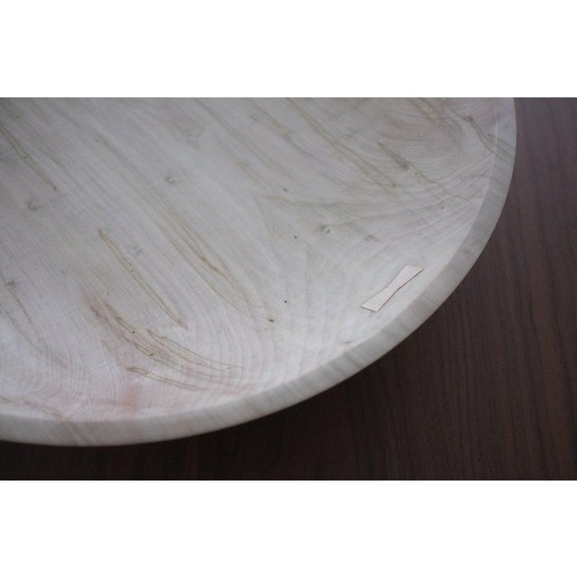 """Designed by Blackcreek Mercantile & Trading Co. Shown in Bleached Maple and Natural Maple. 19.5"""" Diameter x 3.5"""" H. Please..."""
