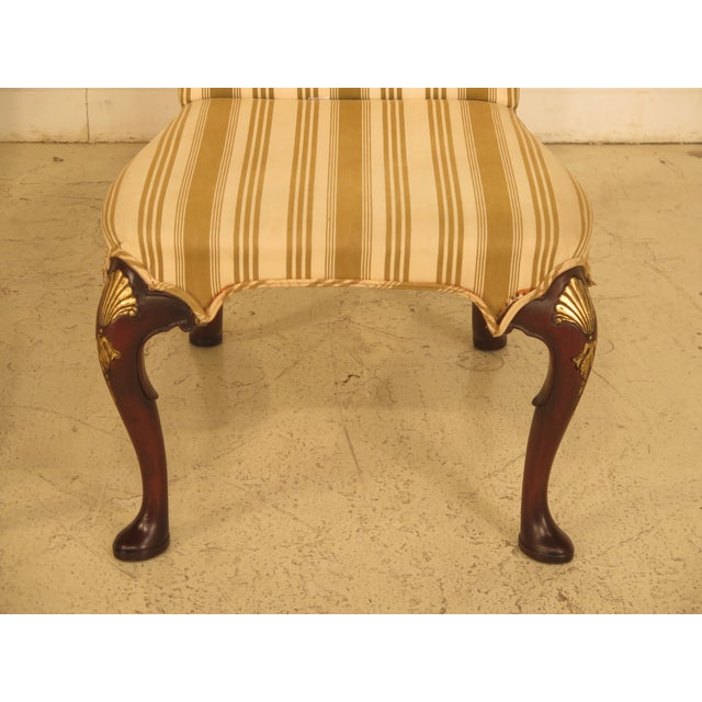 Kittinger Cw-67 Queen Anne Mahogany Upholstered Side Chairs - a Pair - Image 3 of 11