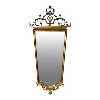 Hungarian Giltwood Mirror in the Style of Lajos Kozma For Sale