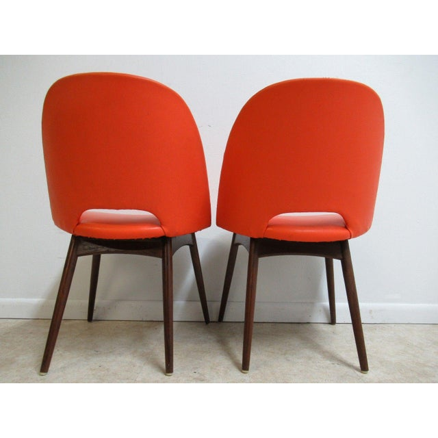 Craft Associates Adrian Pearsall Craft Associates Scoop Side Chairs - A Pair For Sale - Image 4 of 9