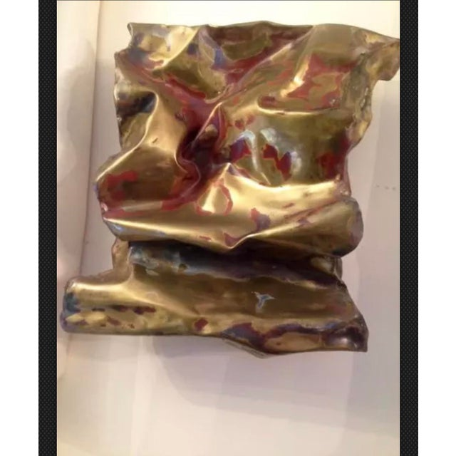 Mid-Century Modern Silas Seandel Sculpture Convoluted Wall Piece For Sale - Image 3 of 12