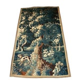 Image of 18th Century Vintage Flemish Pictorial Tapestry For Sale
