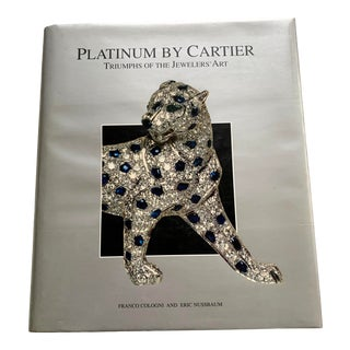 Platinum by Cartier Book For Sale