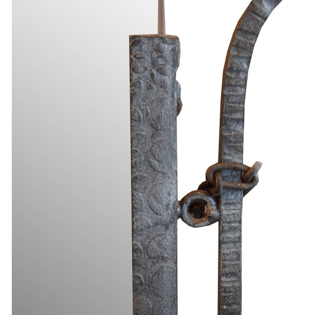 French Fer Forge Mirror - Image 4 of 4
