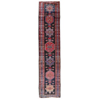 Tribal Long Gallery Size Runner Rug - 3′1″ × 17′5″ For Sale