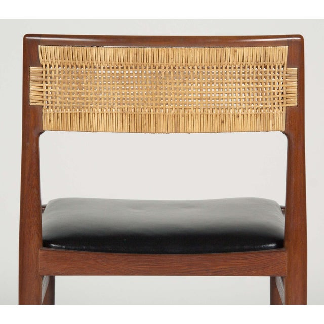 Model W26 Teak Chairs by Erik Worts - Set of 4 For Sale - Image 10 of 12