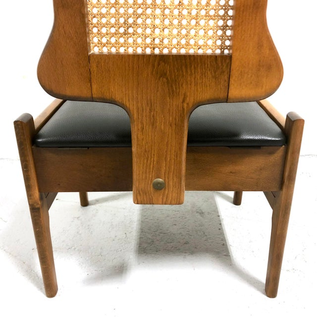 Mid Century Italian Modern Men's Valet Chair For Sale - Image 9 of 11