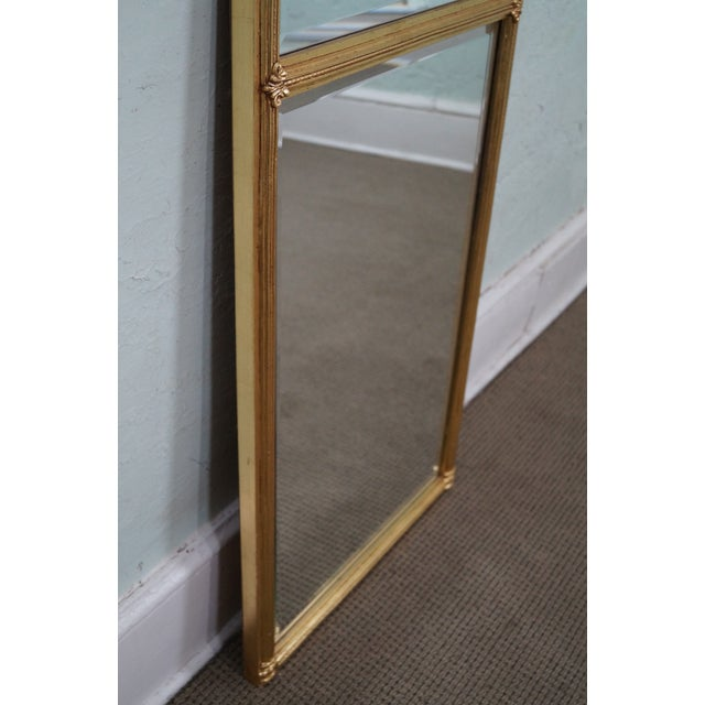 Italian Made Gilt Federal Hanging Wall Mirror - Image 6 of 10