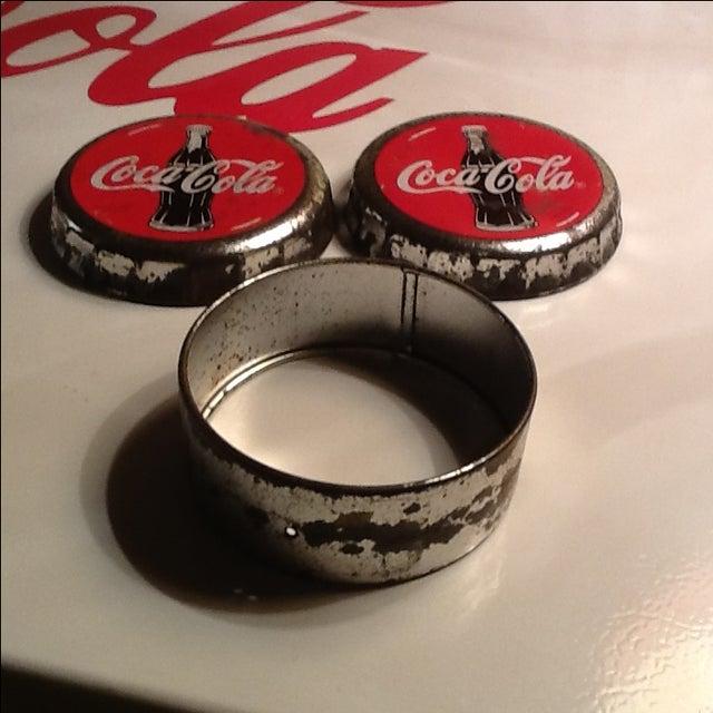 Vintage Coca Cola Cap Tin - Image 8 of 10