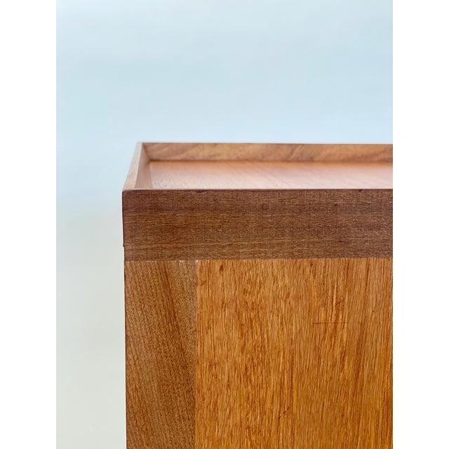 Wood 1960s Mid Century Scandinavian Arne Wahl Iversen Nightstands - a Pair For Sale - Image 7 of 12