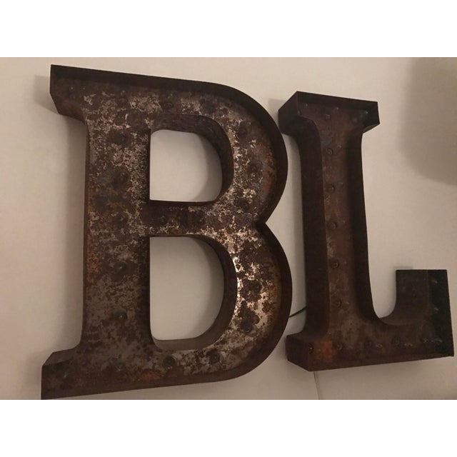 Vintage B & L Marquee Lights - A Pair - Image 4 of 5