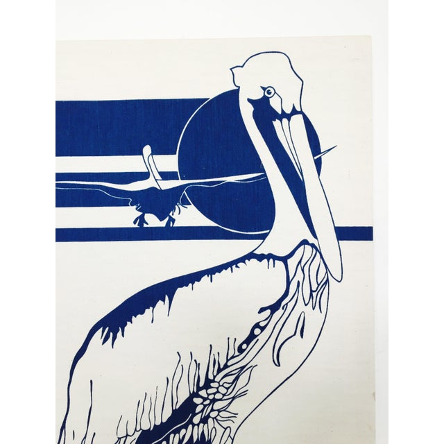 Vintage Marüshka Pelican Screen Print - Image 4 of 4