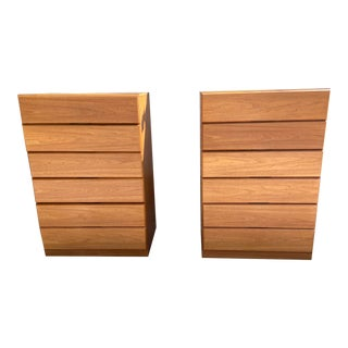 MCM Teak Highboy Dressers - a Pair For Sale