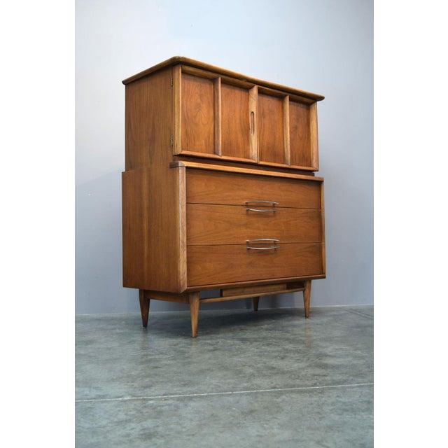 On Hold - Kent Coffey Walnut Highboy Dresser - Image 2 of 11