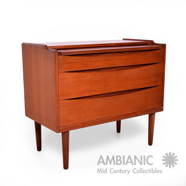 Arne Vodder Secretary Vanity Desk Dresser for Sibast - Image 8 of 10