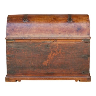 Antique Spanish Dome Top Trunk For Sale