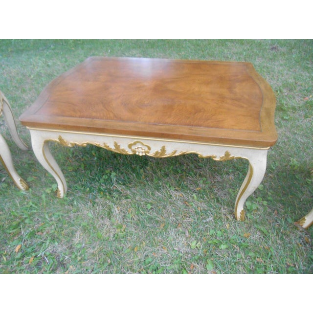 Baker Furniture French Regency Collector Series 3 Piece Coffee Table - Image 8 of 10