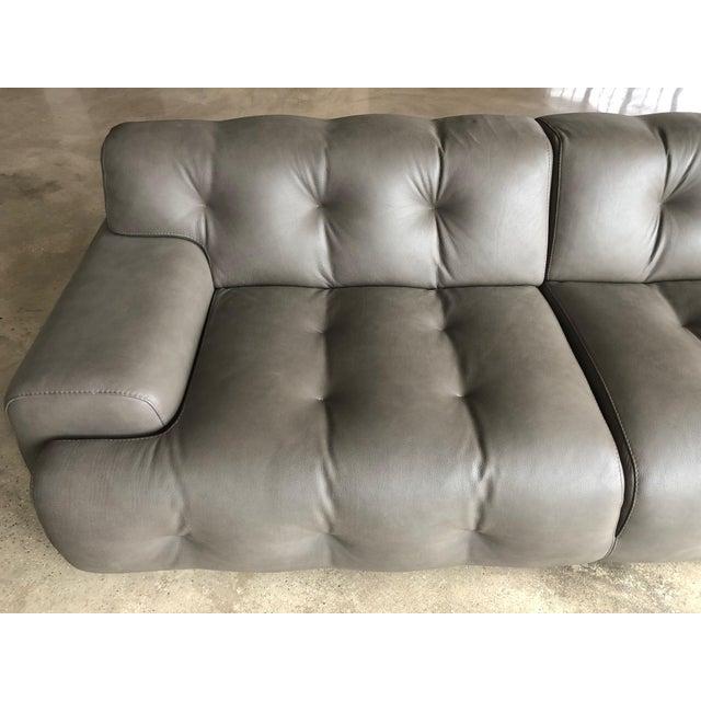 Animal Skin Modern Roche Bobois Blogger Sofa For Sale - Image 7 of 9